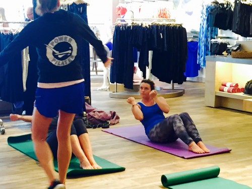 Complimentary Pilates Mat Classes At Athleta Mount