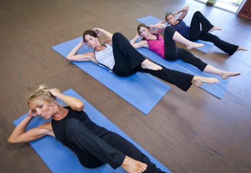 Pilates Mat Criss Cross